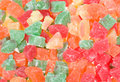 Sweet candied fruits Stock Photography