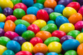 Sweet candy color close up of colorful background of Stock Photography