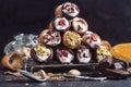 Sweet cannoli Royalty Free Stock Photo
