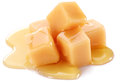 Sweet caramel candies. Royalty Free Stock Photo
