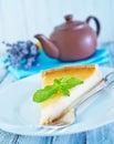 Sweet cheesecake Royalty Free Stock Photo