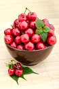 Sweet cherry fruits Royalty Free Stock Photo