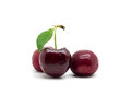 Sweet cherry on white background Royalty Free Stock Photo