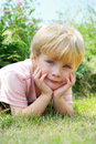 Sweet Child in Nature Royalty Free Stock Photo