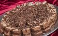 Sweet choko cake srilankan street smail Stock Photo
