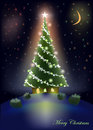 Sweet christmas tree home background star building abstract Royalty Free Stock Image