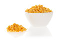 Sweet corn in a bowl Royalty Free Stock Photo