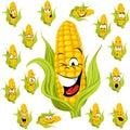 Sladký kukurica návrh maľby