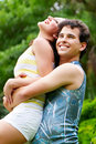 Sweet couple in love Royalty Free Stock Photo