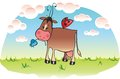 Sweet cow Royalty Free Stock Photo