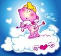 Sweet cupid Royalty Free Stock Photo