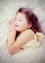 Sweet dreams.  Retro style. Royalty Free Stock Photo