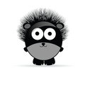 Sweet And Funny Hedgehog Anima...