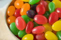 Sweet Gummy Jelly Bean Candy Royalty Free Stock Photo