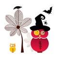 Sweet Halloween Owls