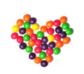 Sweet heart candy Stock Images