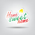 Sweet home background with space for your text Stock Photography