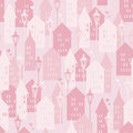 Sweet Home seamless pattern Royalty Free Stock Photos