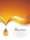 Sweet Honey Background