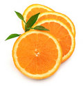 Sweet and juice orange Royalty Free Stock Images