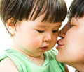 Sweet kiss Royalty Free Stock Photo