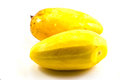 Sweet mango in white background Royalty Free Stock Images