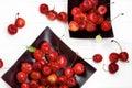 Sweet Maraschino Cherries Royalty Free Stock Photo