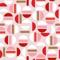Sweet modern half of circle and geometric seamless pattern vector design for fashion,fabric,wallpaper, and all prints