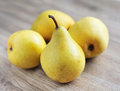 Sweet pears Stock Images