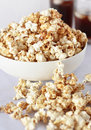Sweet popcorn Stock Photo