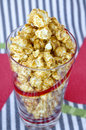 Sweet popcorn in colorful Royalty Free Stock Images