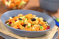 Sweet Potato and Apple Salad Royalty Free Stock Photography