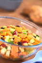 Sweet Potato and Apple Salad Stock Photos