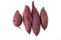Sweet potato on background Royalty Free Stock Photography