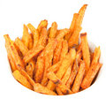 Sweet Potato Fries Royalty Free Stock Photography