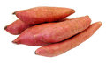 Sweet potato potatoes looking nice and Royalty Free Stock Images