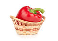 Sweet red pepper Stock Photos