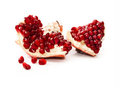 Sweet red pomegranate Royalty Free Stock Photography
