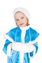 Sweet Snow Maiden Royalty Free Stock Image