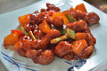 Sweet and sour pork Royalty Free Stock Photo