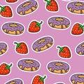 Sweet stickers pop art