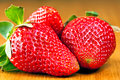 Sweet strawberries Stock Photography