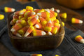 Sweet and Sugary Candy Corn Treats Royalty Free Stock Photo