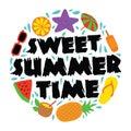 Sweet Summer Time, 100% vector