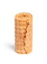 Sweet tube wafer Royalty Free Stock Photo