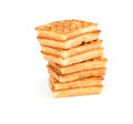 Sweet waffles Stock Image
