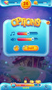 Sweet world mobile gui sound volume screen for video web games Royalty Free Stock Image