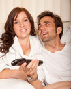 Sweet young american couple lifestyle Royalty Free Stock Image