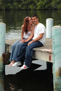 Sweet young couple Royalty Free Stock Image