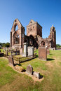 Sweetheart abbey dumfries and galloway scotland is a ruined cistercian monastery founded in by lady dervorgilla in memory of her Royalty Free Stock Photography